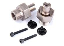 R/C racing car parts, CNC metal upgrade rear hex hub(2pcs/set)for 5SC for 1/5th RC Gas Model Car/for baja