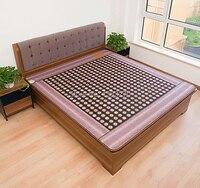 Health care korea jade mattress Far Infrared Thermal Tourmaline Stone Mattress,tourmaline hot pad 1.2*1.9M