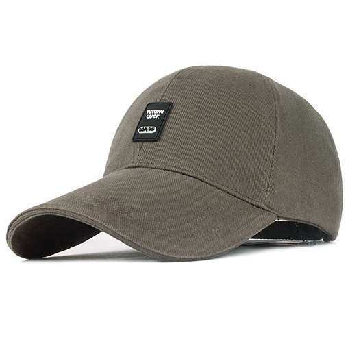BRAND Men  s Baseball Cap Cotton Sun Hat Summer Outdoor Sports Casual  Increased Eaves 9.5cm Deepen Breathable FREE SHIPPING 2013 fe359a152d65