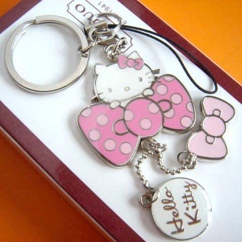 0b2b9a691 Hello Kitty key chain key ring cat keychain key holder cute portachiavi  chaveiro llaveros mujer bag charm free shipping-in Key Chains from Jewelry  ...