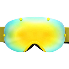 Двойной лыжные очки с линзами Анти-туман Spherica лыжные очки UV400 занятий сноубордом, лыжами на снежную погоду для мотокросса очки для мужчин женщин лыжные очки
