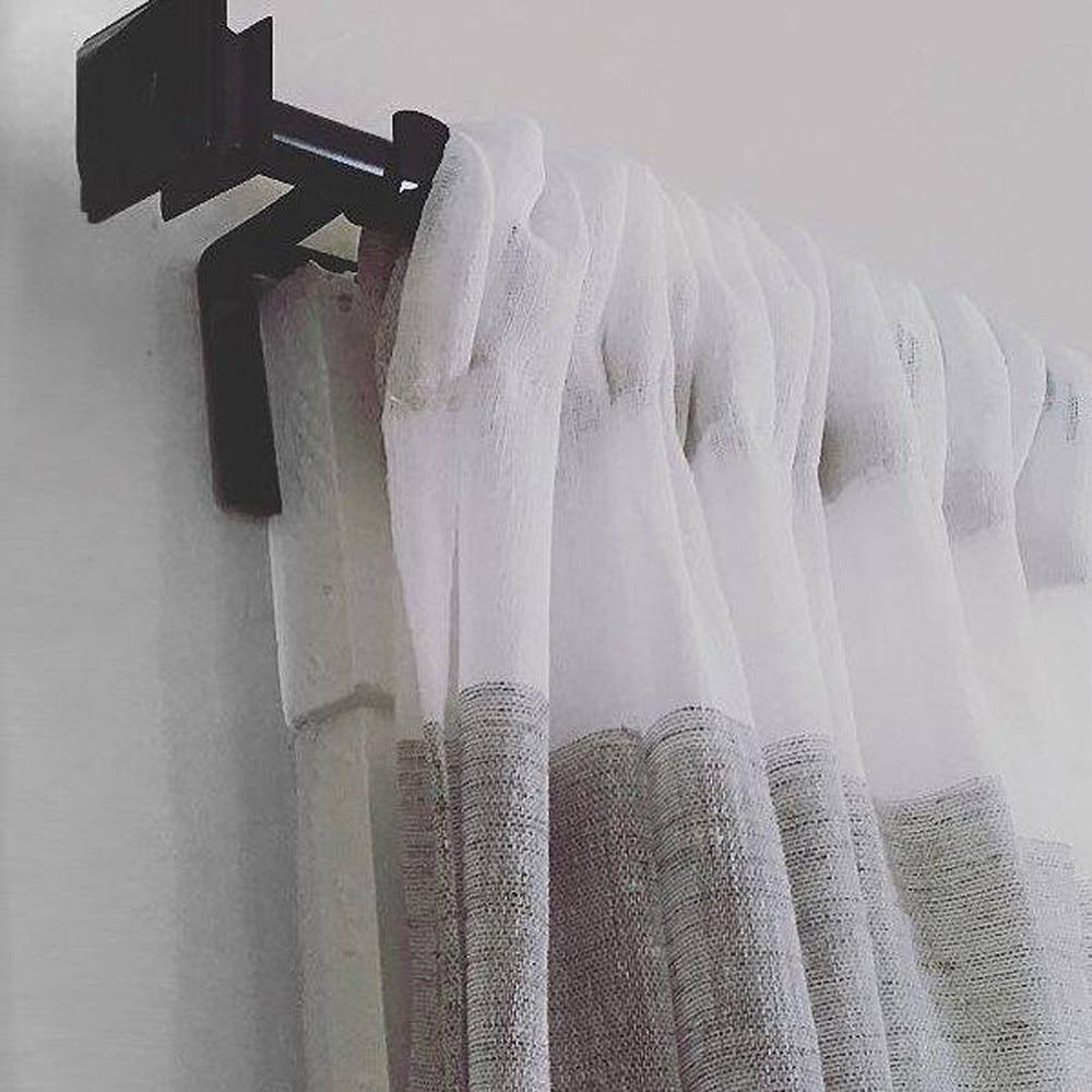 1 пара Висячие двойные душевые занавески стержни для полотенец Крючки Зажимы для штор s организованный стеллаж для хранения перила держатель# K42