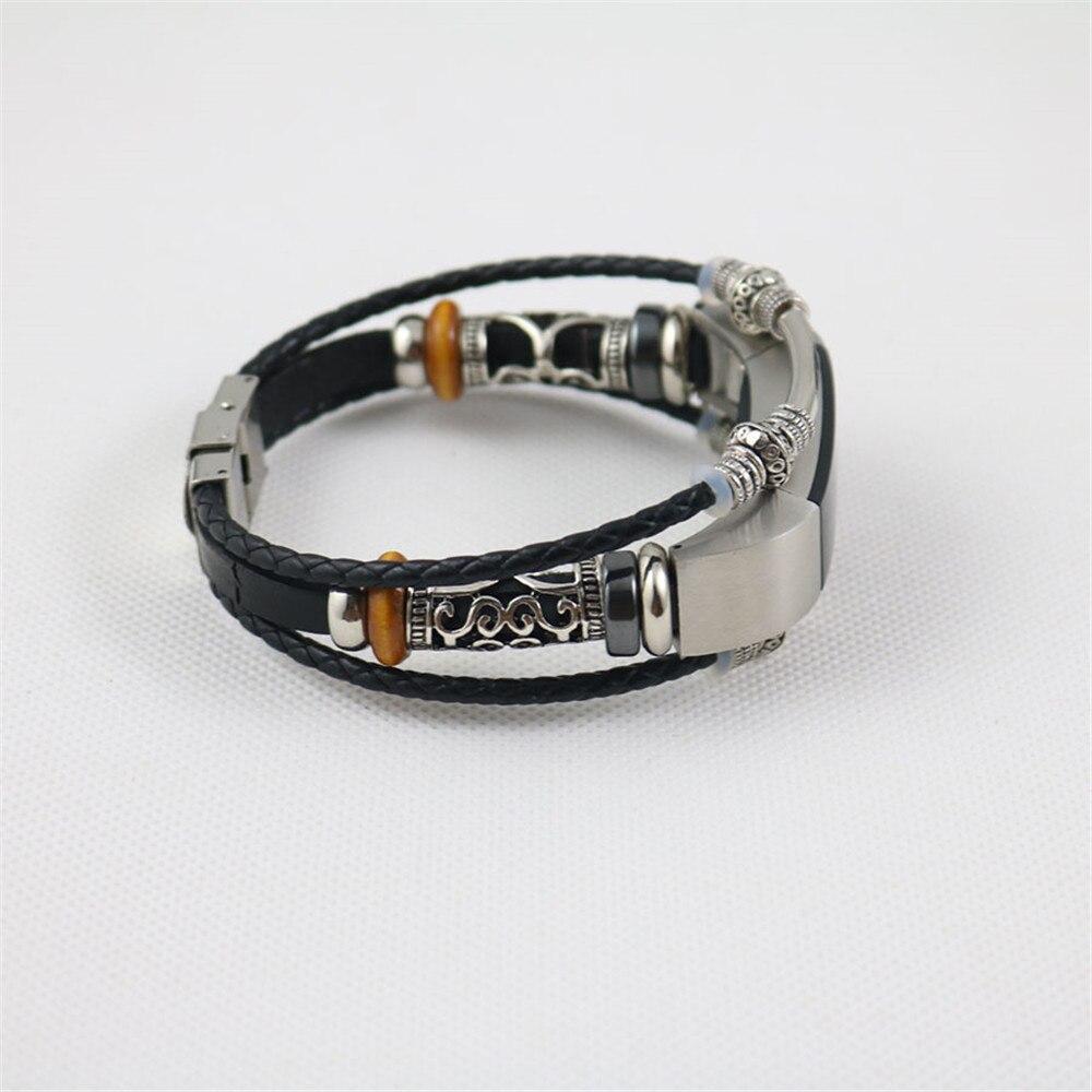 купить High Quality Replacement Leather Wristband Band Strap Bracelet For Fitbit Alta/Fitbit Alta HR Watchbands Correas de reloj bandje по цене 346.8 рублей