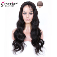 PREMIER LACE WIGS Silk Top Full Lace Wigs Indian Remy Hair Body Wave [SFLW BW]
