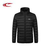 SAIQI Léger Hommes Sport Vie Court Vers Le Bas Veste Coupe-Vent Chaud D'hiver Vestes Style Court Manteau D'hiver