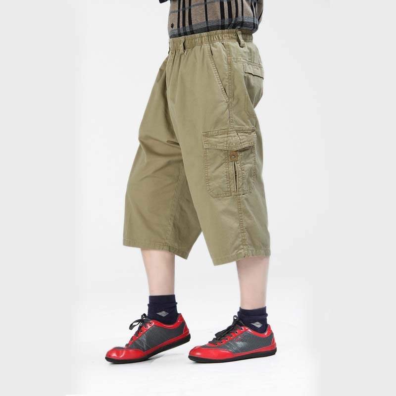 Aliexpress.com : Buy Summer Fashion Mens Shorts Cargo Beach Cotton ...