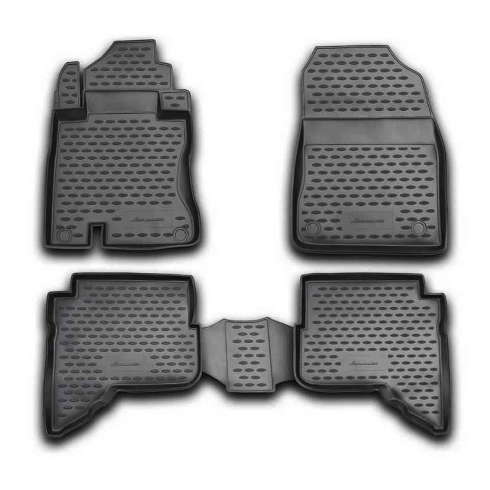 For DAIHATSU Terios 2 2006-2009 floor mats into saloon 4 pcs/set Element NLC1201210K модель машины tomica ^tomy daihatsu move 32
