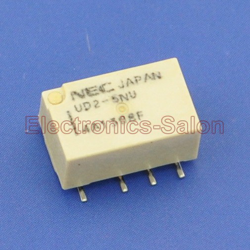 ( 20 Pcs/lot ) UD2-5NU SMD Signal Relay,DC 5V,Ultra-miniature Flat,DPDT/2 Form C