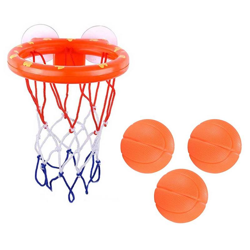 New Bathroom Shooting Toys Children Bathing Basketball Play Suit Baby Shower Appease Classic Toys Parent-child Interactive Toys