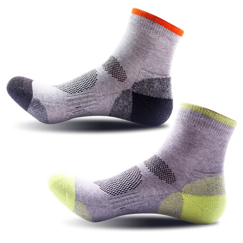 2pairs Womens Sport Cotton Socks Ankle Low Cut No Show Sport Socks Multi-Type Cycling Bowling Camping Hiking Sock 2 Colors