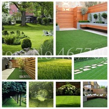 500 Pcs Green Turf Grass ,Golf,Special Perennial Lawn Plant,Soccer Fields, Villa,High-Grade Flowers Bonsai Garden Grass Plant(China)