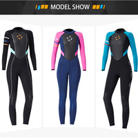 2019 New Women 3mm Diving Suit Full Body Scuba Wetsuit Surf Swimming Jumpsuit