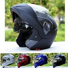 Бесплатная доставка Китай Cross Racing КАСКО capacetes анфас флип мотоциклетный шлем лучше, чем JIEKAI 105 XS S ~ Размер XXL