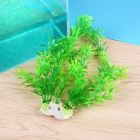 Fish Tank Simulation False Water Aquatic Plant Grass Underwater Plastic Ornament
