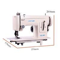 B, портативная Лапка для швейной машинки, прямая стежка 7 '', ручная швейная машина/инструмент для прошивки кожи/сверхмощная швейная машина/та