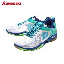 Professional Kawasaki Brand Badminton Shoes for Men Breathable Anti-torsion Wear-resistance Rubber Sports Sneakers Women K-138
