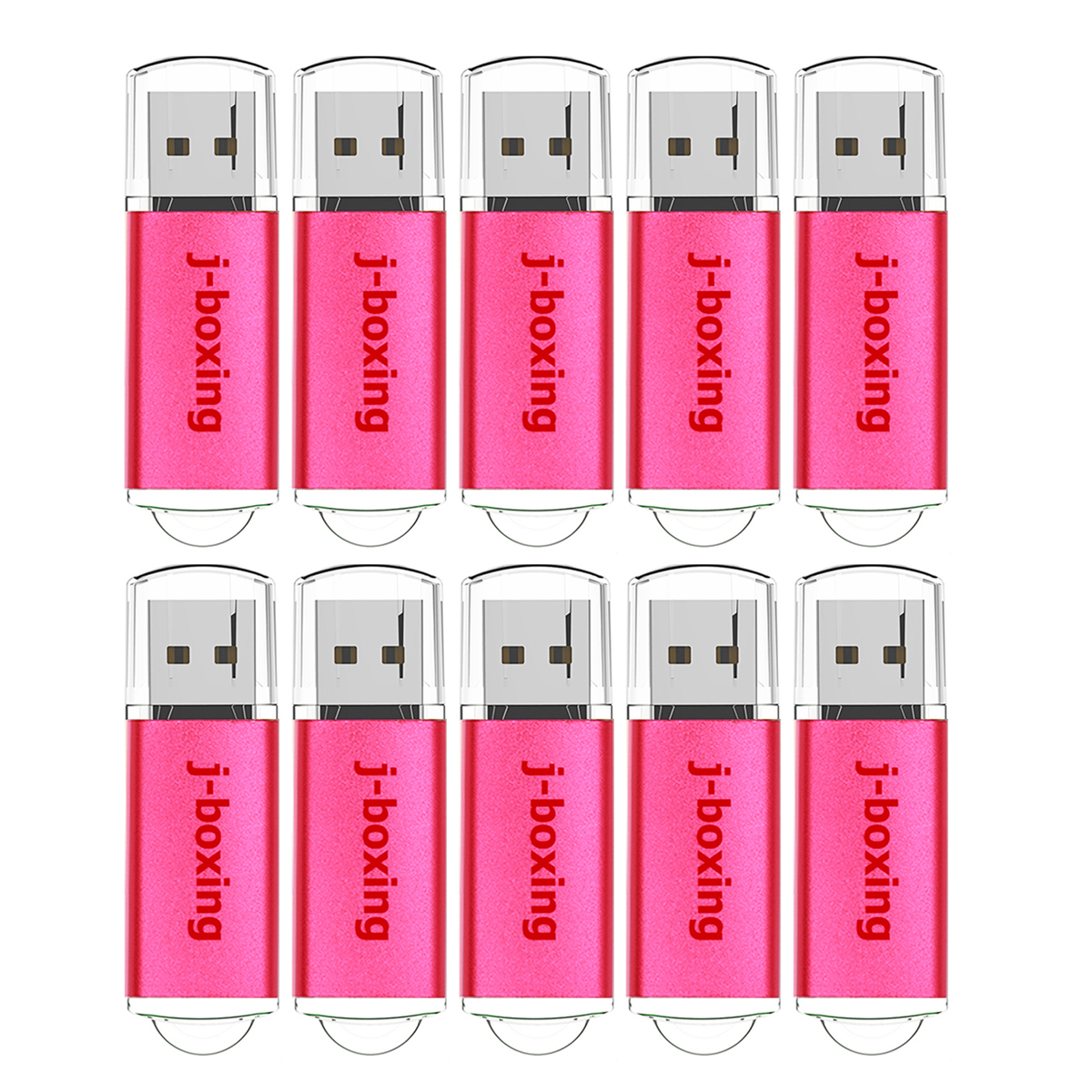 Image 4 - J boxing 10PCS USB Flash Drive 512MB 256MB 128MB 64MB Small Capacity Memory Stick Jump Drive Pen Drives for Desktop Multi colors-in USB Flash Drives from Computer & Office