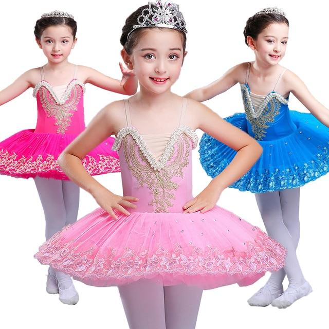 9ebd0de3cab2 2018 New Children Girls Swan Lake Costume Professional Ballet Tutu ...