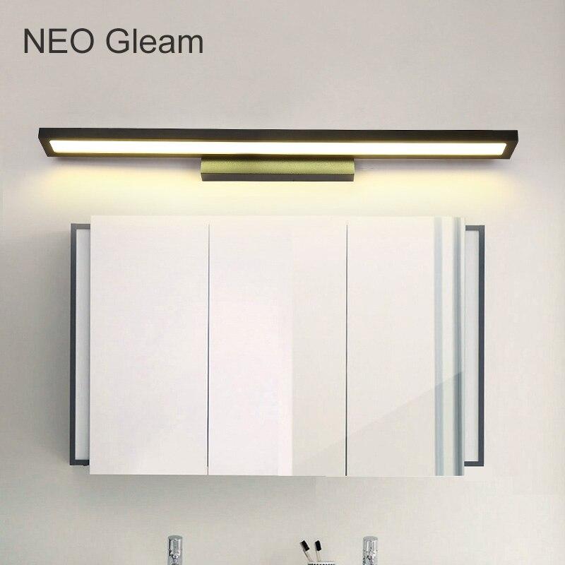 Lâmpadas de Parede bathroom aluminum mirror lights 0.4-1m Área de Iluminação : Medidores 5-10square