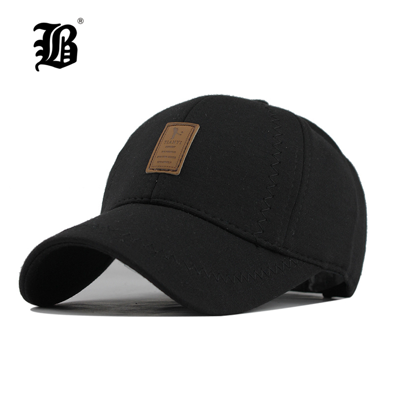 Bone Snapback Baseball-Cap Fitted-Hats Brand Hat Women Cotton FLB for Warm Thickened