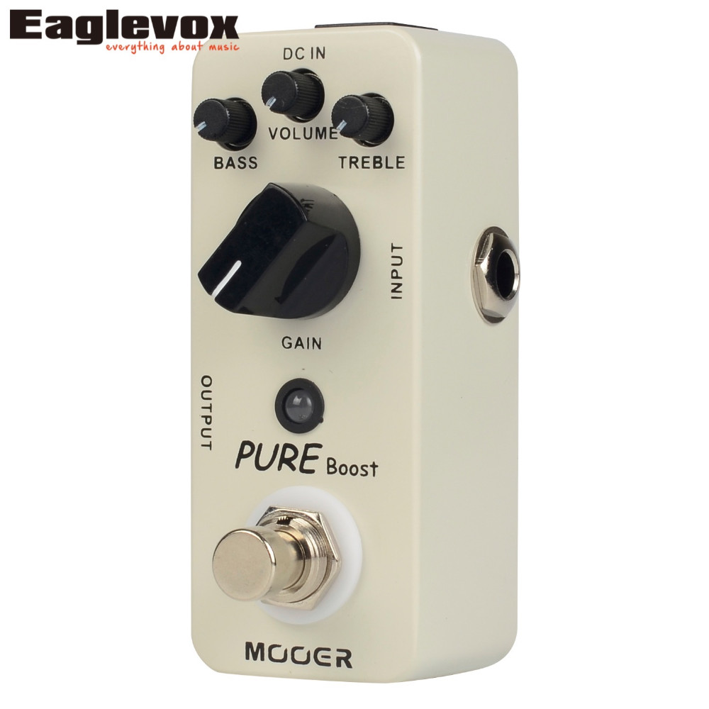 20 dB Clean Boost Mooer Micro Series Pure Boost Effects Pedal BRAND NEW