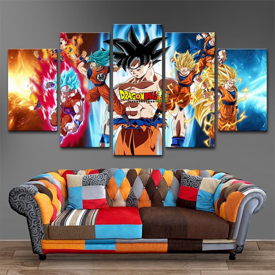 Artryst moderna decoración del hogar pinturas en lienzo Posters 5 ...