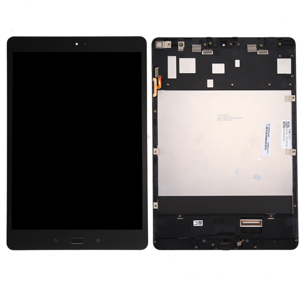 LCD Screen and Digitizer Full Assembly with Frame for Asus ZenPad 3S 10 / Z500M / Z500 / P027 for asus zenpad 3s 10 0 z500 z500m z500kl screen protector glass 9h tempered glass for zenpad 3 s 10 z500 m film