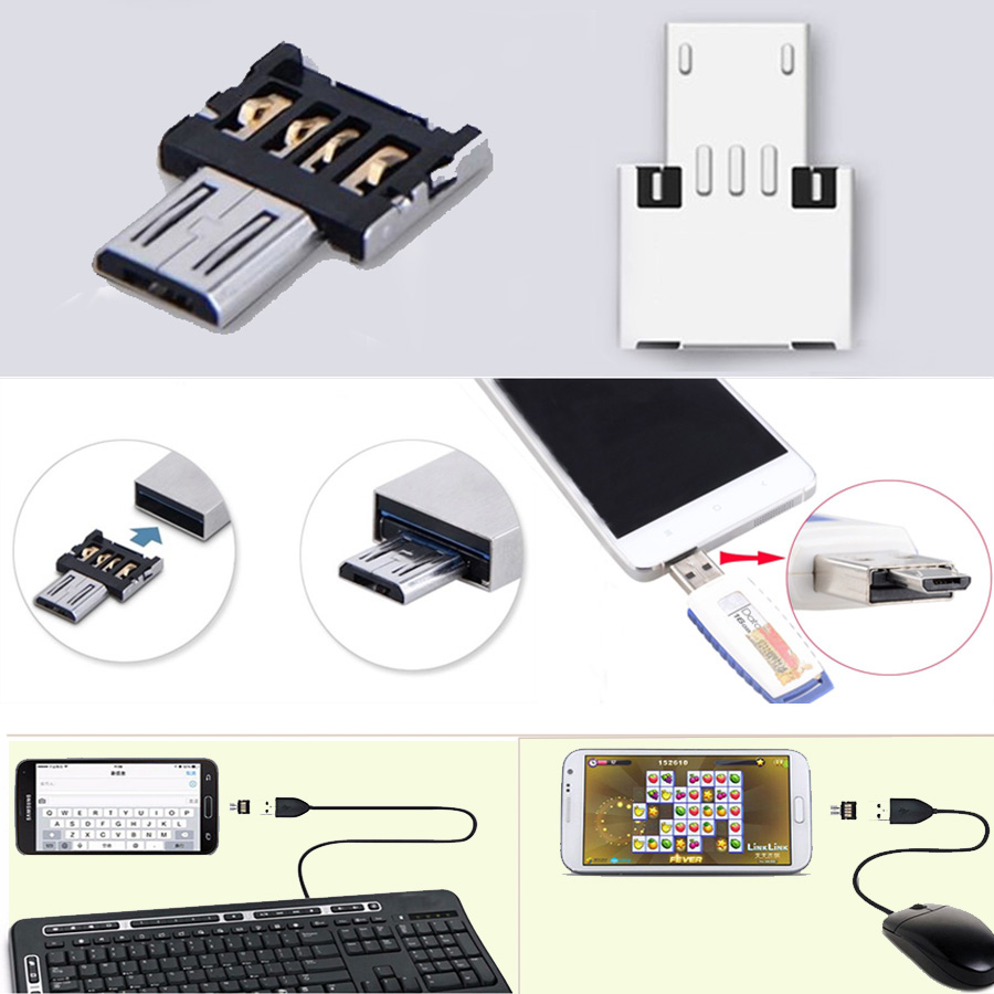 Hot Sale! USB OTG Adapter For USB Flash Pen Drive Mobile