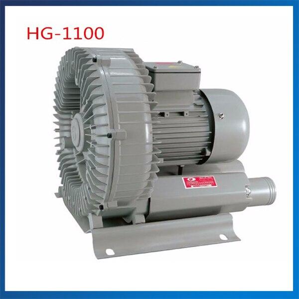 HG 1100 170m3 h Inflatable Aerator Blower 380V 220V 50HZ 60HZ High Pressure Turbo Air Blower