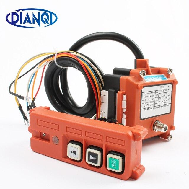 Drahtlose Industrielle Fernbedienung Elektrische Hoist Fernbedienung Wicklung Motor Sandstrahl Schalter Verwendet F21 2S radio schalter