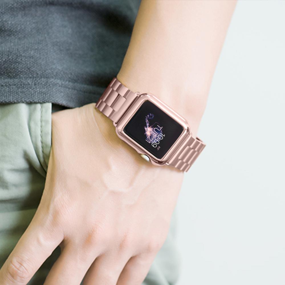 folome смотреть защиты кадров чехол силиконовый чехол для Apple часы серии 3 часы iwatch 38/42 мм аксессуары для часов