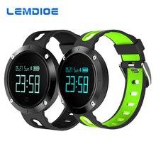 Lemdioe T1 Bluetooth Smart Band Поддержка сердечного ритма Приборы для измерения артериального давления Мониторы Фитнес трекер Смарт Браслет для телефонов