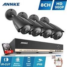 ANNKE Системы ВИДЕОНАБЛЮДЕНИЯ 960 P 8-канальный HD 1280*960 P NVR комплект открытый ИК Ночного Видения 1,3-МЕГАПИКСЕЛЬНАЯ AHD комплект Камеры Главная Система Безопасности наблюдения