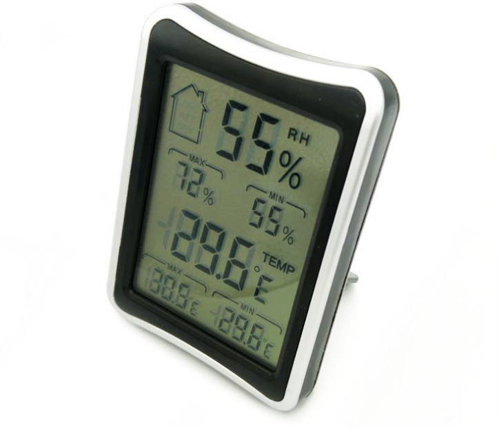New Household Digital LCD Thermometer Hygrometer Weather Station Indoor Outdoor Electronic Temperature Humidity Meter L215