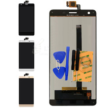 Black White Gold LCD+TP for Oukitel K6000 5.5″ LCD Display+Touch Screen Digitizer Assembly Replacement Parts Free Shipping+Tools