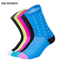 DH SPORTS Professional Cycling Socks Men Women Outdoor Sport  Running Racing Compression Socks Bicycle Mountain Road Bike Socks