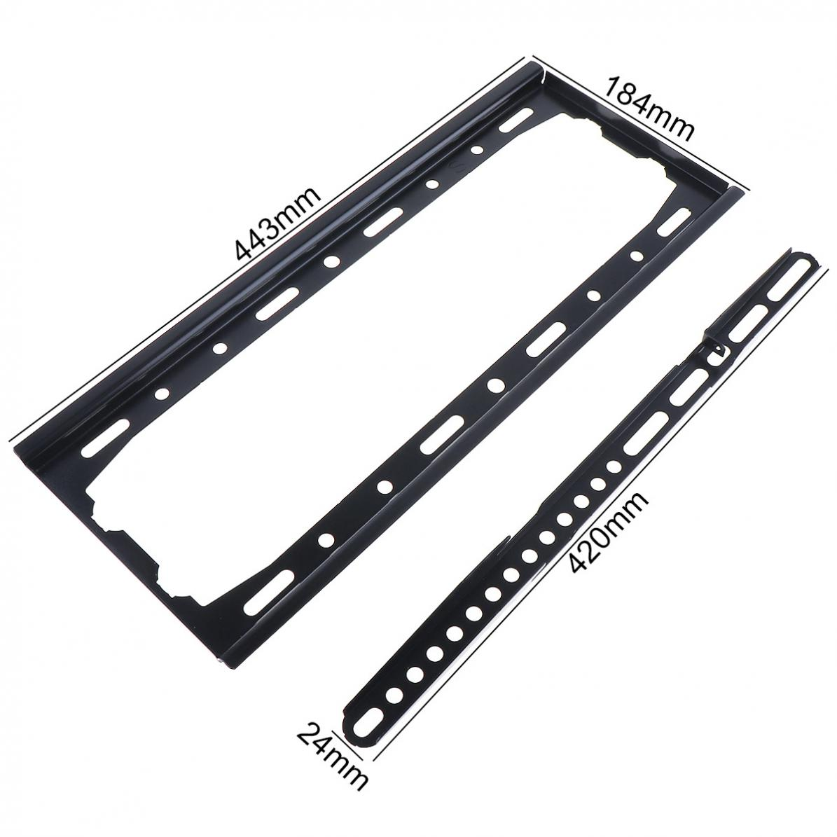 Image 2 - Universal convenient 45KG TV Wall Mount Bracket Fixed Flat Panel TV Frame for 26 55 Inch LCD LED Monitor Flat PanelTV Mount   - AliExpress