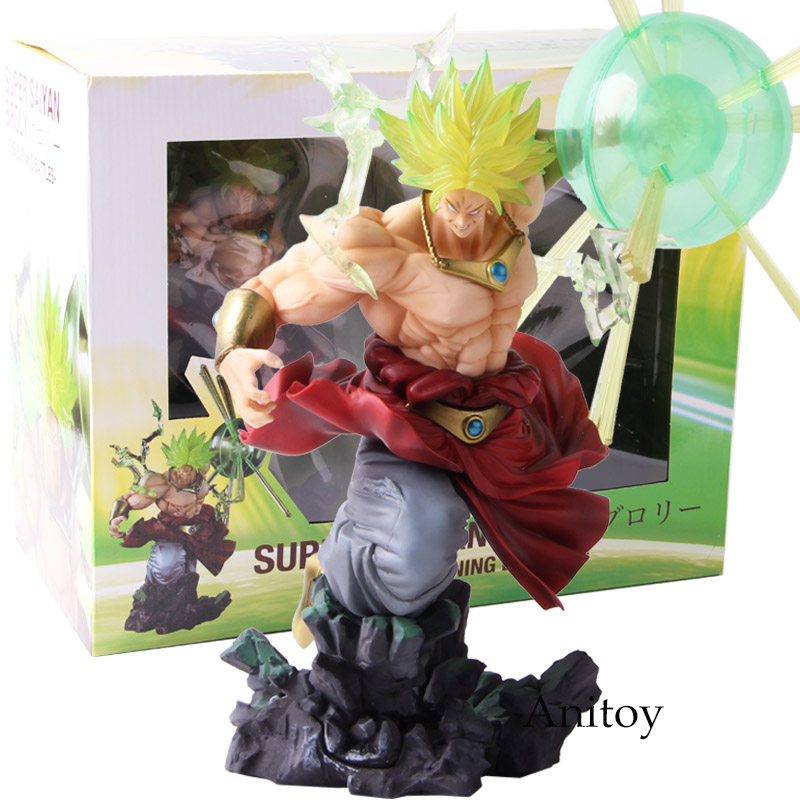 Dragon Ball Z Супер Saiyan Broli сжигание сражения ПВХ Broly фигурку DBZ Коллекционная модель игрушки