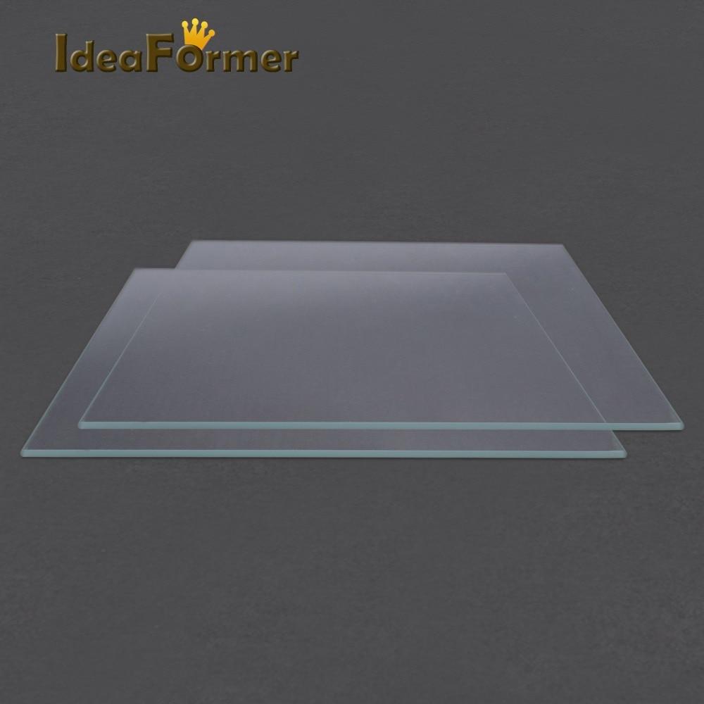 3D Printer Accessories Reprap MK2 Heated Bed Borosilicate Glass Plate Tempered Glass in good quality