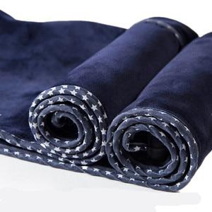 Image 5 - Kadınlar yüksek bel kadife kalın kot kadın kış 2020 sıska streç sıcak Jean pantolon anne siyah Denim pantolon polar