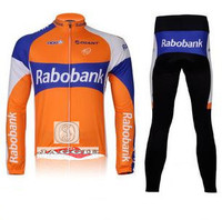 3D Silicone New 2012 Team Long Sleeve Autumn Cycling Wear Clothes Bicycle Bike Riding Cycling Jerseys