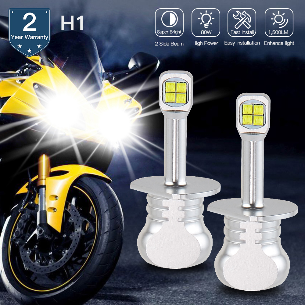 NICECNC <font><b>LED</b></font> <font><b>Headlight</b></font> Bulbs Lamp High Low Beam For <font><b>Yamaha</b></font> <font><b>R1</b></font> YZF-<font><b>R1</b></font> 2004 2005 2006 image