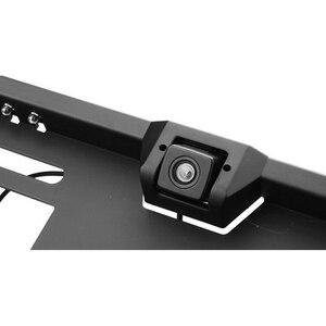 Image 4 - 16 LED Европейская Рамка номерного знака Автомобильная камера заднего вида CMOS HD камера заднего вида Автомобильная камера заднего вида камеры транспортного средства