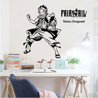 Fairy tail Animation cartoon game cartoon wall stickers stick adhesive wall glass window