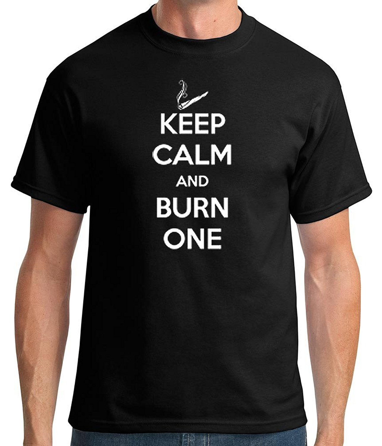 Fashion Design Free Shipping Tshirtsxl Mens Burn One Graphic T-shirt (also In Big & Tall Sizes)