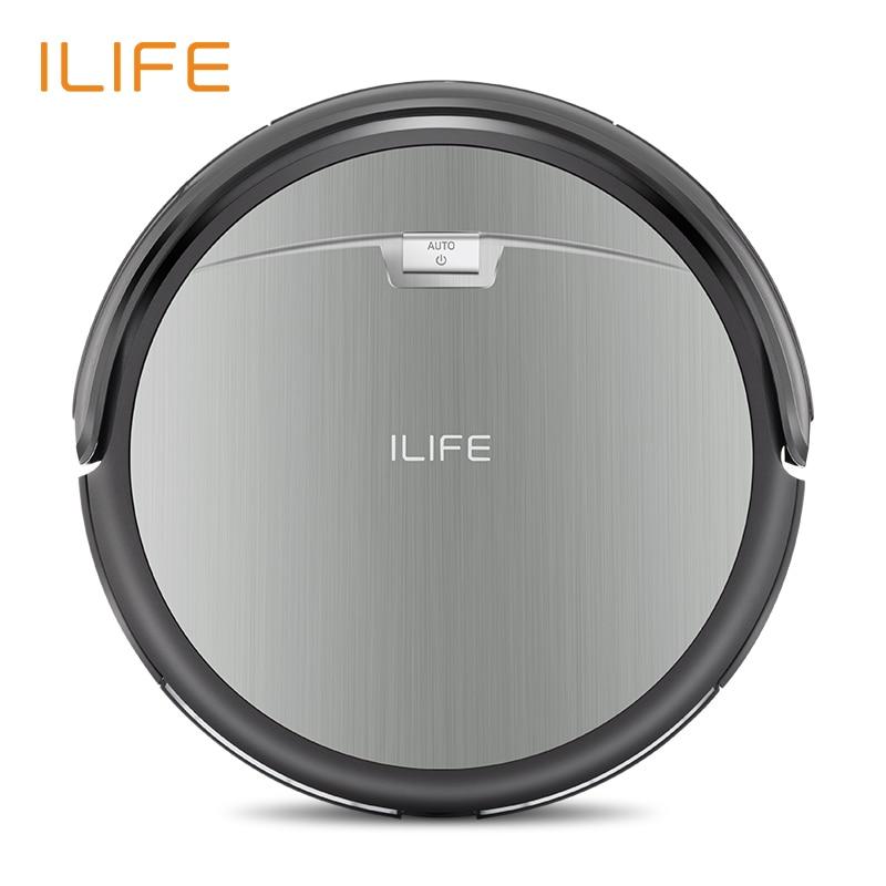ILIFE A4s робот пылесос, новый бренд, уборка в коврах, анти столкновения, анти падения, автоматически зарядить