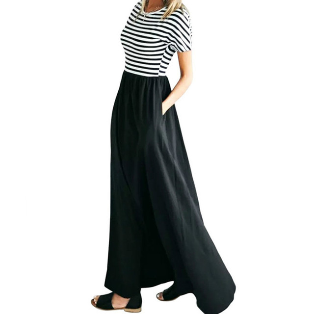 Langes kleid kurzarm