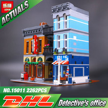 Lepin 15011 Building Series The Detective's Office Set Avengers Set Assemble Building Blocks Educational Children Toys 10197