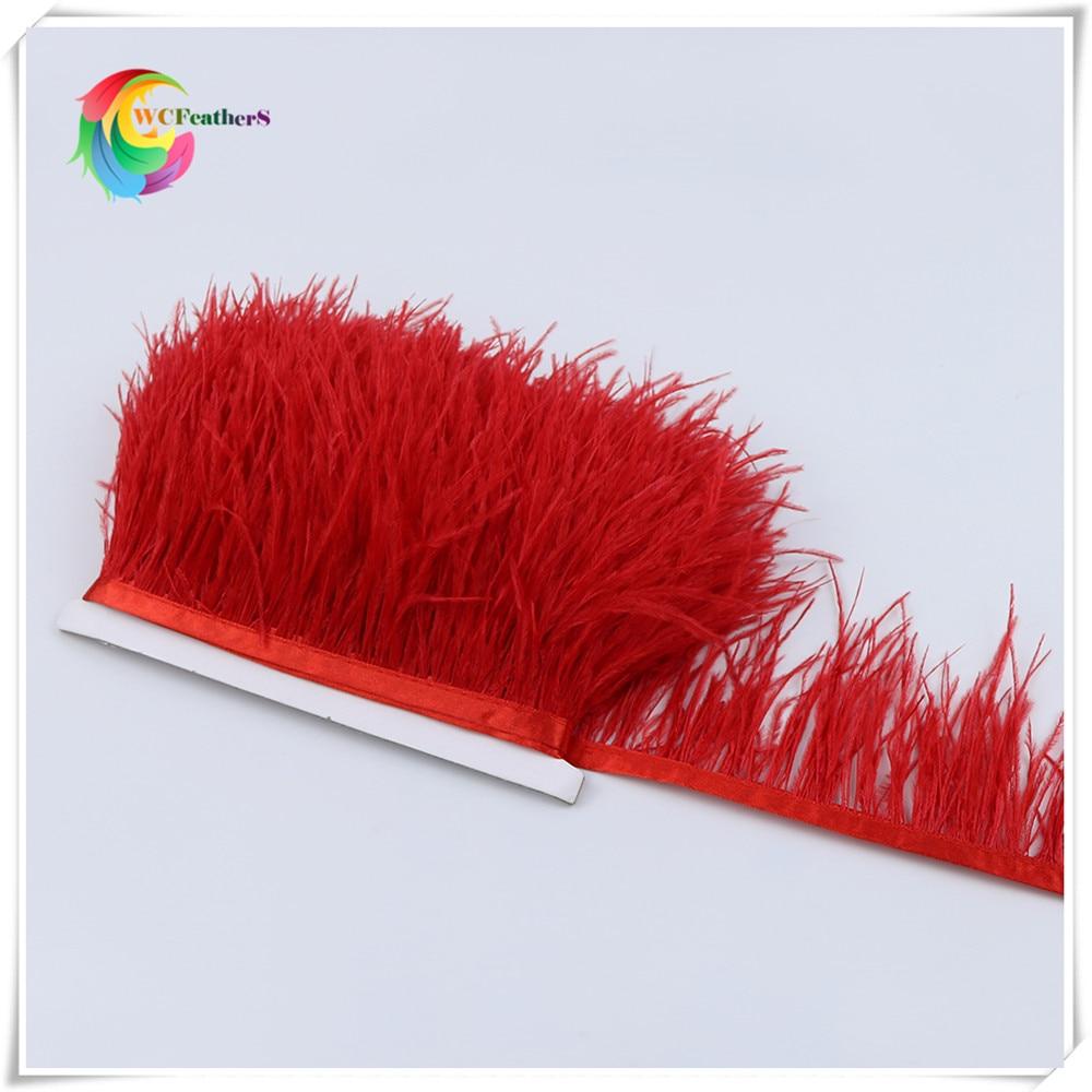 O3 8-10cm ostrich feather trims 4