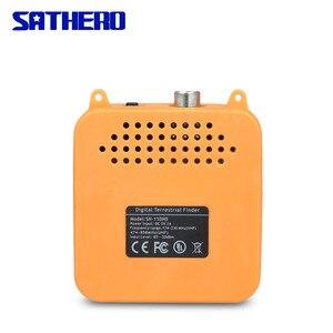 Image 4 - Sathero SH 110HD dvb t dvb T2 高精細ファインダーポータブルテレビ信号メーターデジタルファインダーメーター